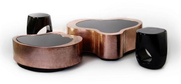 Center Table Design For Living Room Extraordinary Copper Design Inspirationsboca Do Lobo  Interior Design Design Ideas