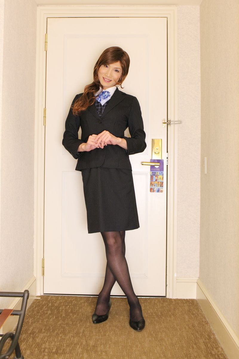 kyouko matsusita Kyoko Matsushita / 松下恭子 (Japan): Office uniform