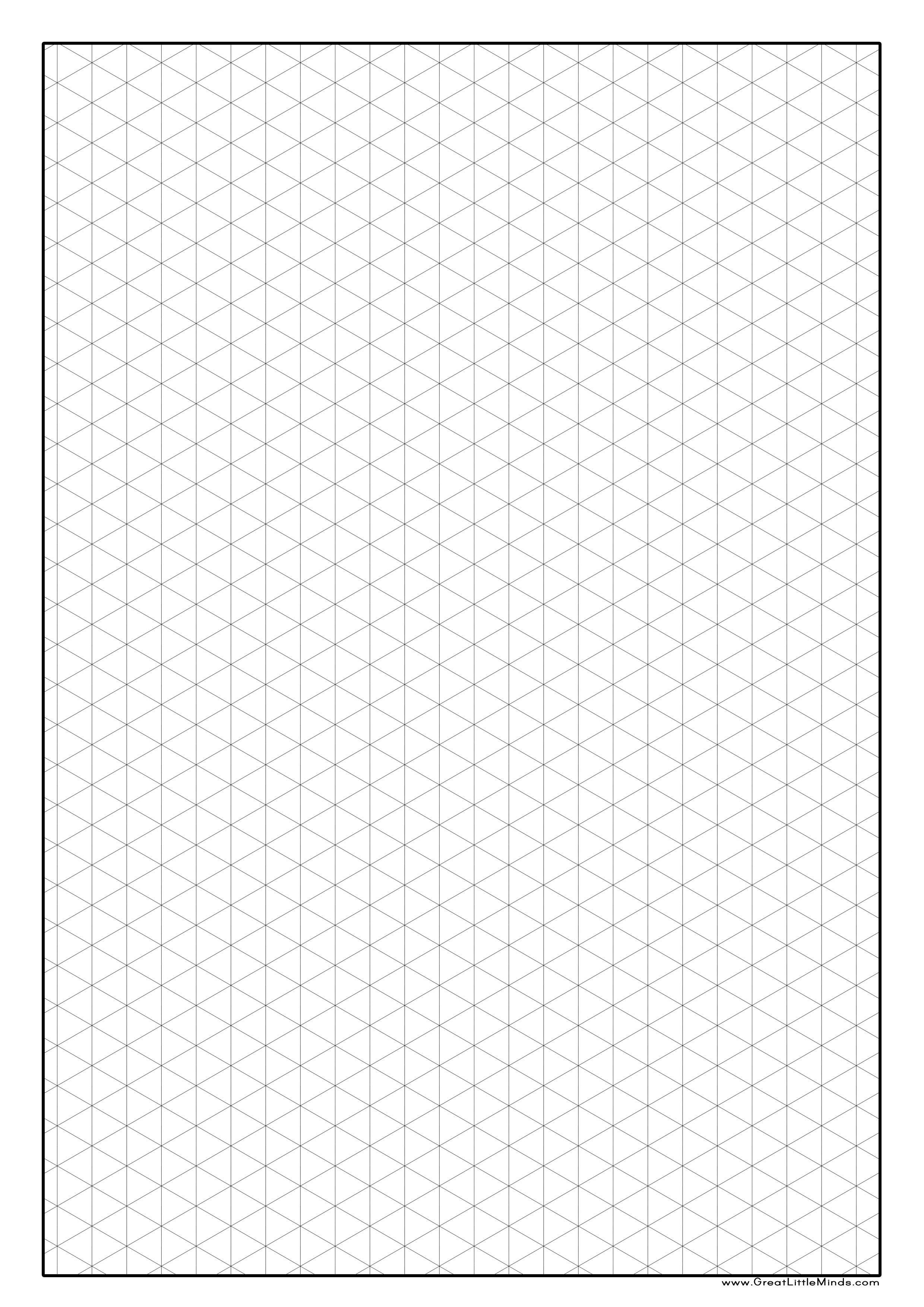 unique printable isometric paper