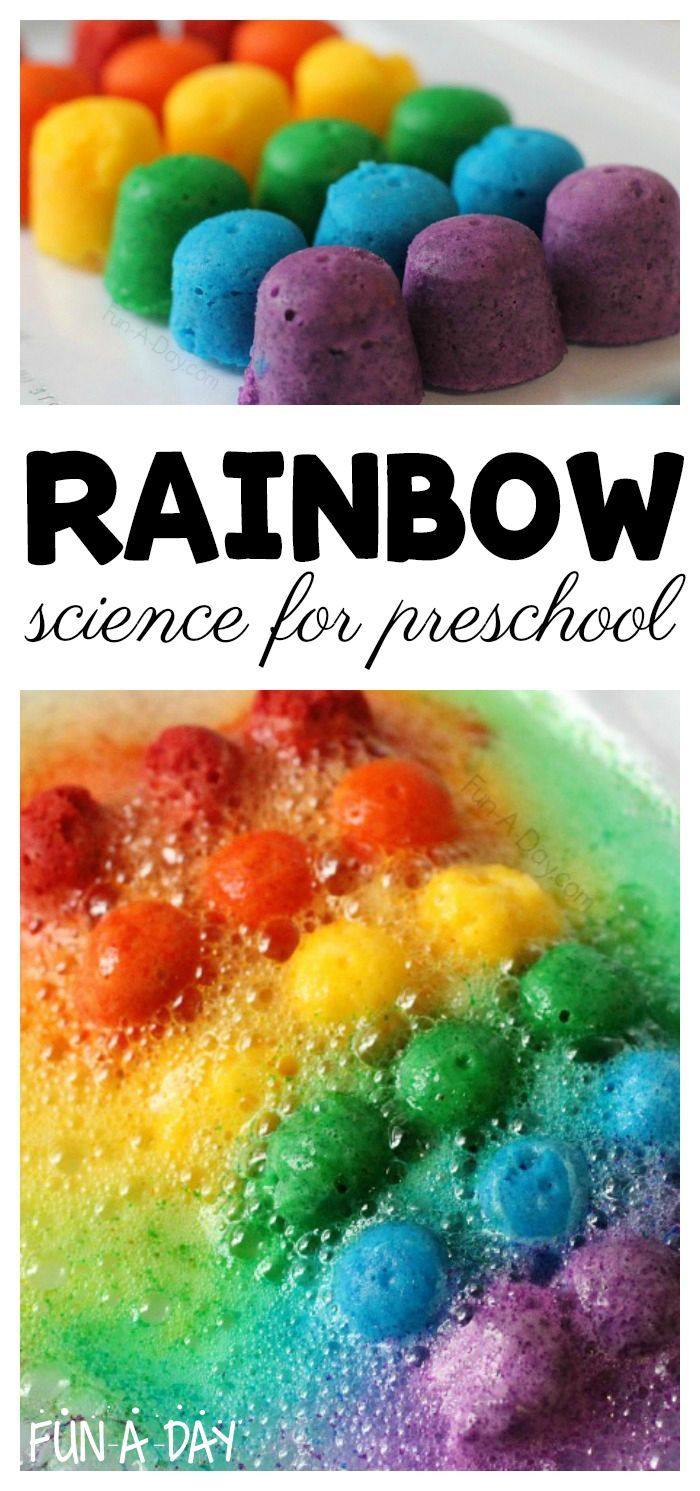 Super Fun and Engaging Scented Rainbow Science for Preschoolers