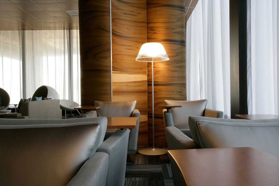 New York Airport Lounge Interior Design | Silver Jet Airport Lounge