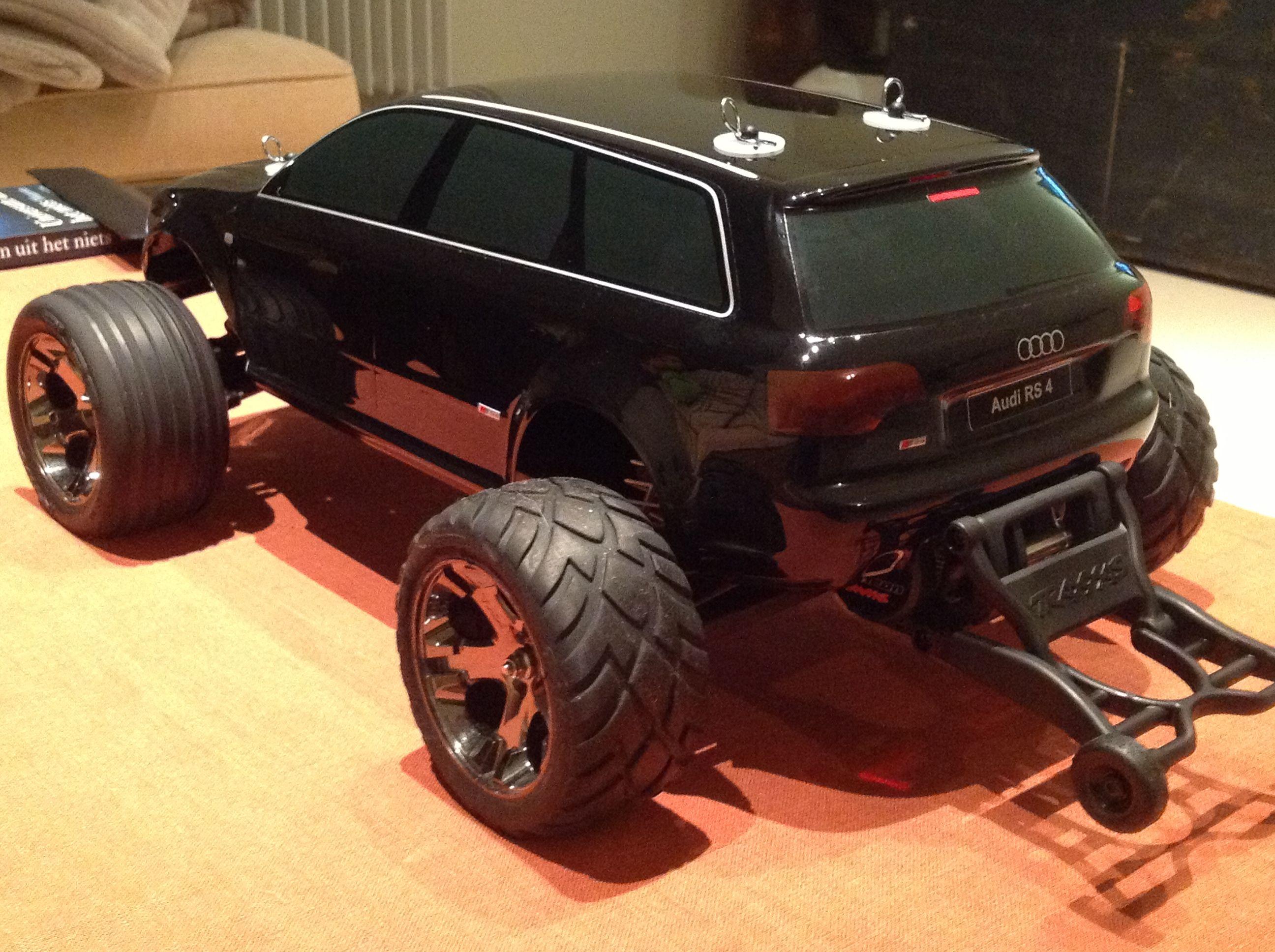 Rustler Audi Rs4 Body Rc Trucks Cars