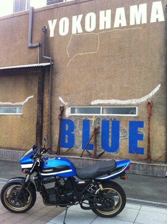 ZRX1200 Yokohama BLUE