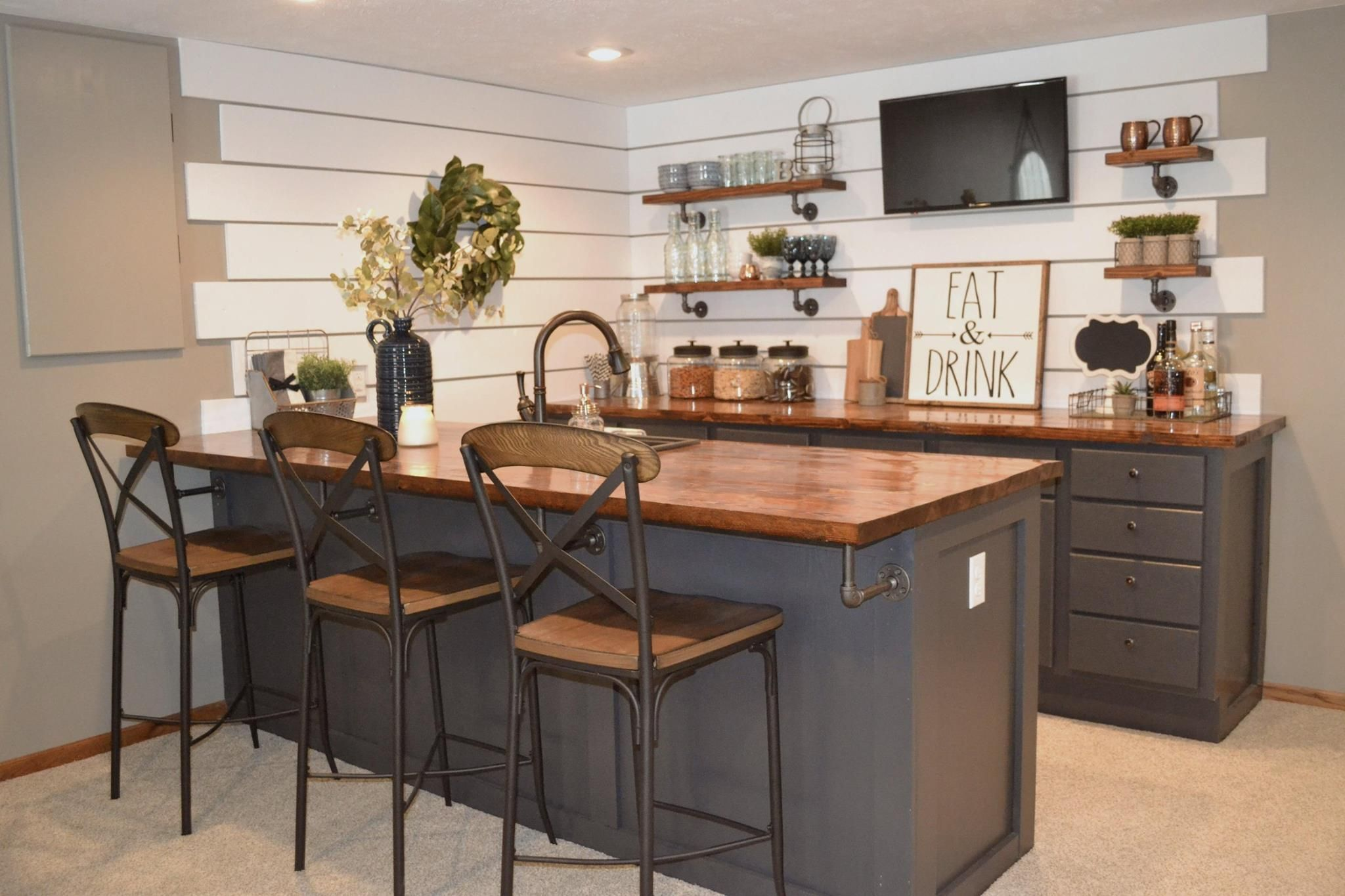 41 Magnificent Basement Bar Ideas For Home Escaping And Having Fun