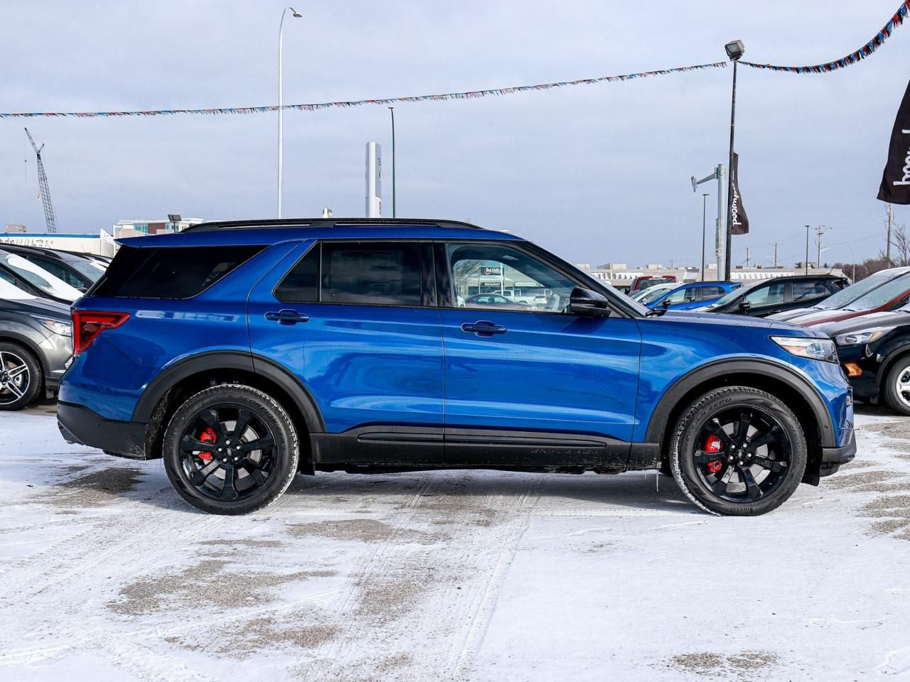 Used 2020 Ford Explorer ST 400A Premium Tech, ST Street