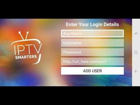 Durex 2.0 service setup on IPTV smarters pro app YouTube