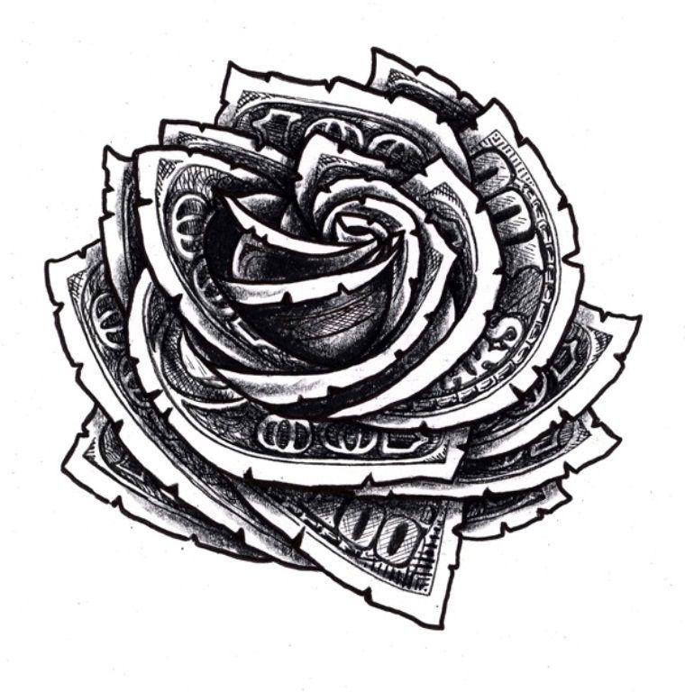 20 Dollar Tattoos Dollar Tattoo Floral Tattoo Design Dollar Sign Tattoo