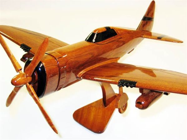 P-47 - Premium Wood Designs #Prop #Military #Aircraft premiumwooddesigns.com