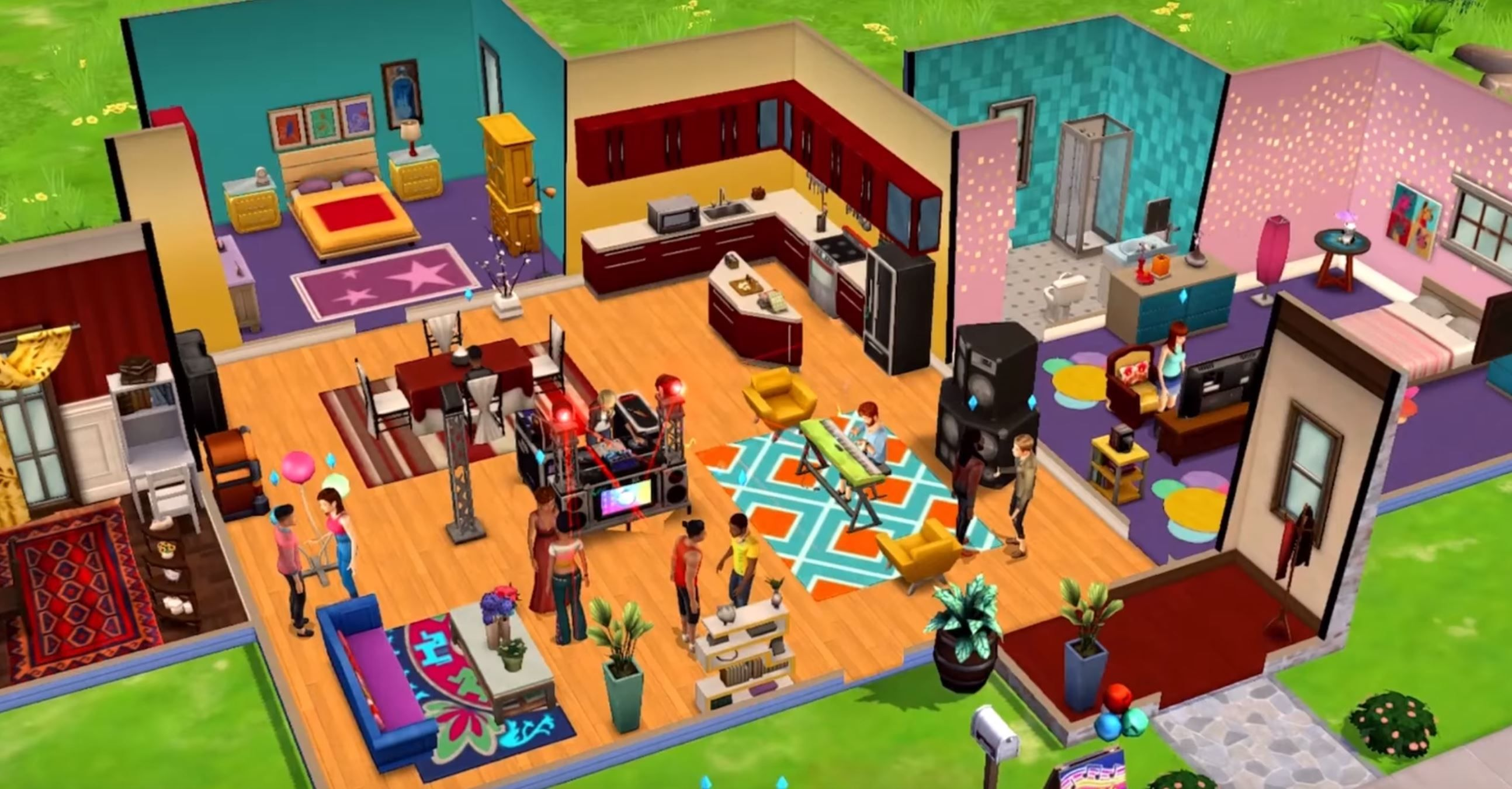 The Sims Mobile Hits Android Focuses On Player Choice Sims Mobile Inspiration Android