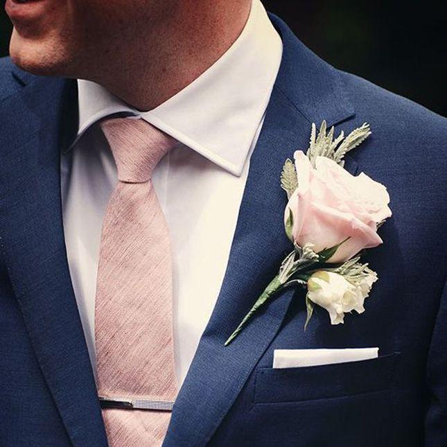 Decoração de Casamento : Paleta de Cores Azul Marinho e Rosé