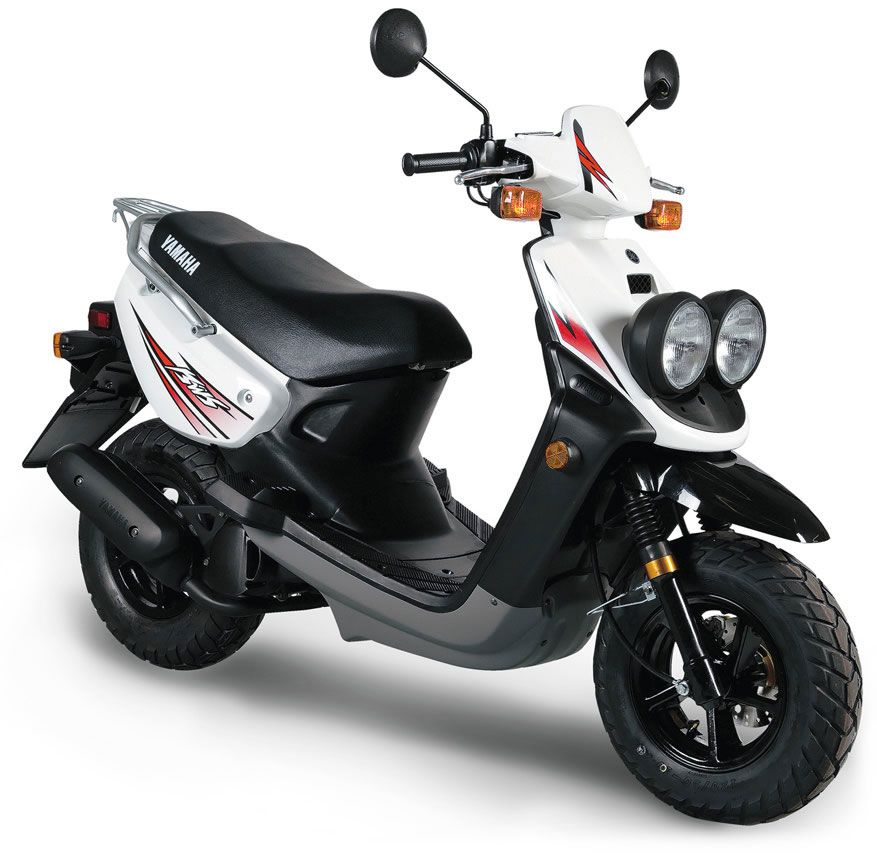 wanted 2010 white yamaha zuma scooter moped 50cc 2. Black Bedroom Furniture Sets. Home Design Ideas