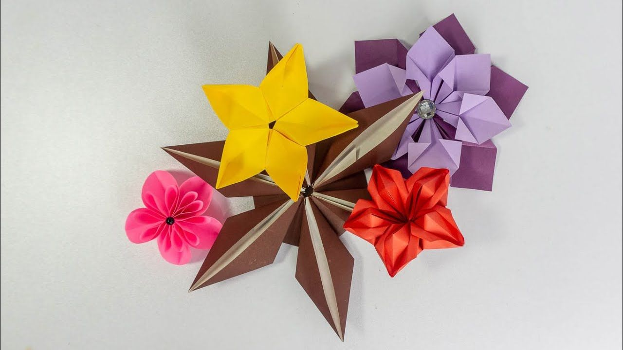 5 Easy Paper Flowers Diy Craft Ideas By Handiworks Paper