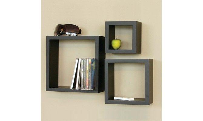 Buy Trenton Wall Shelf Set Of 3 Black Finish Online In India Wooden Street Wall Shelves Shelves Wooden Street