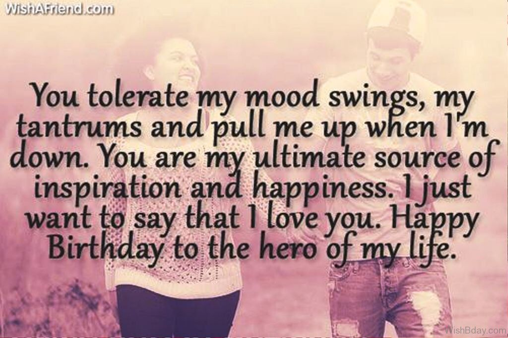 Pin By Stephanie On Love Quotes Happy Birthday Boyfriend