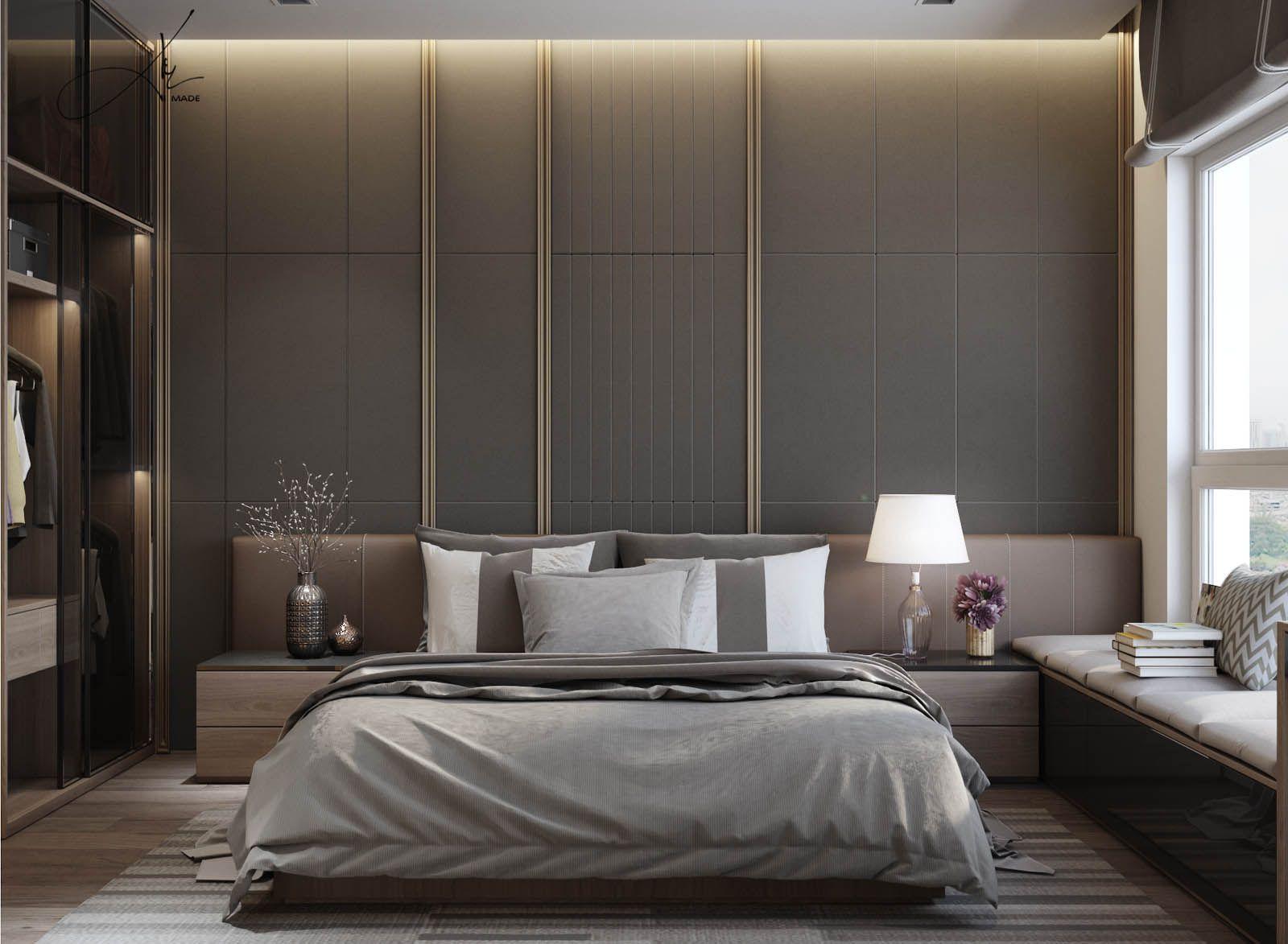 Vrayworld house in masteri bedroom modern