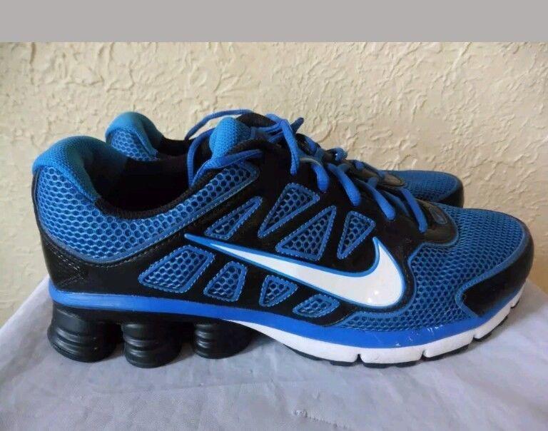 more photos e4ea0 836ea ... spain nike shox qualify 2 mens us size 10 black athletic running shoes  551e5 49f94