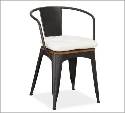 Superior Pottery Barn Tavern Stacking Armchair