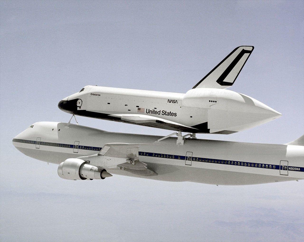 space shuttle enterprise - HD1280×1021