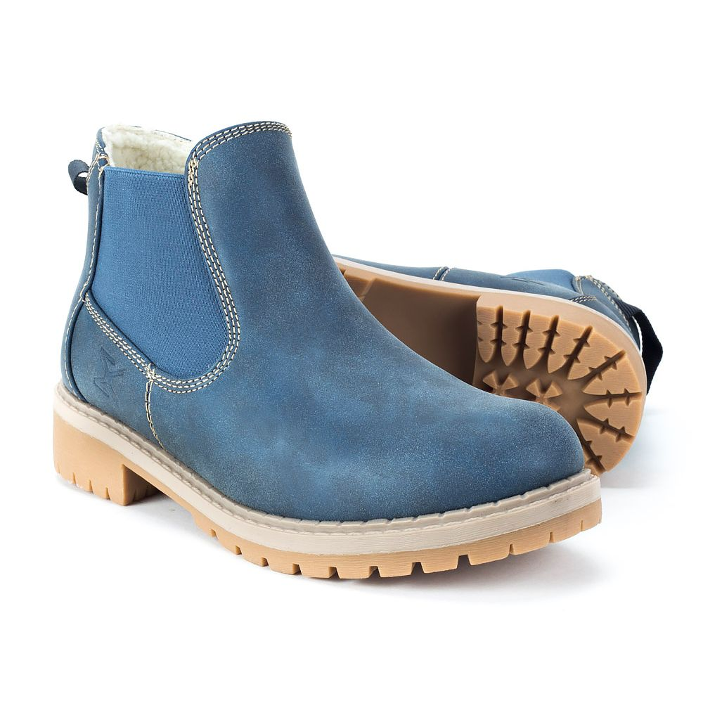 Botki Damskie Granatowe Ocieplane Http Www Filippo Pl Trapery Mckey Tr309 16 Granatowe 2 Boots Chelsea Boots Shoes