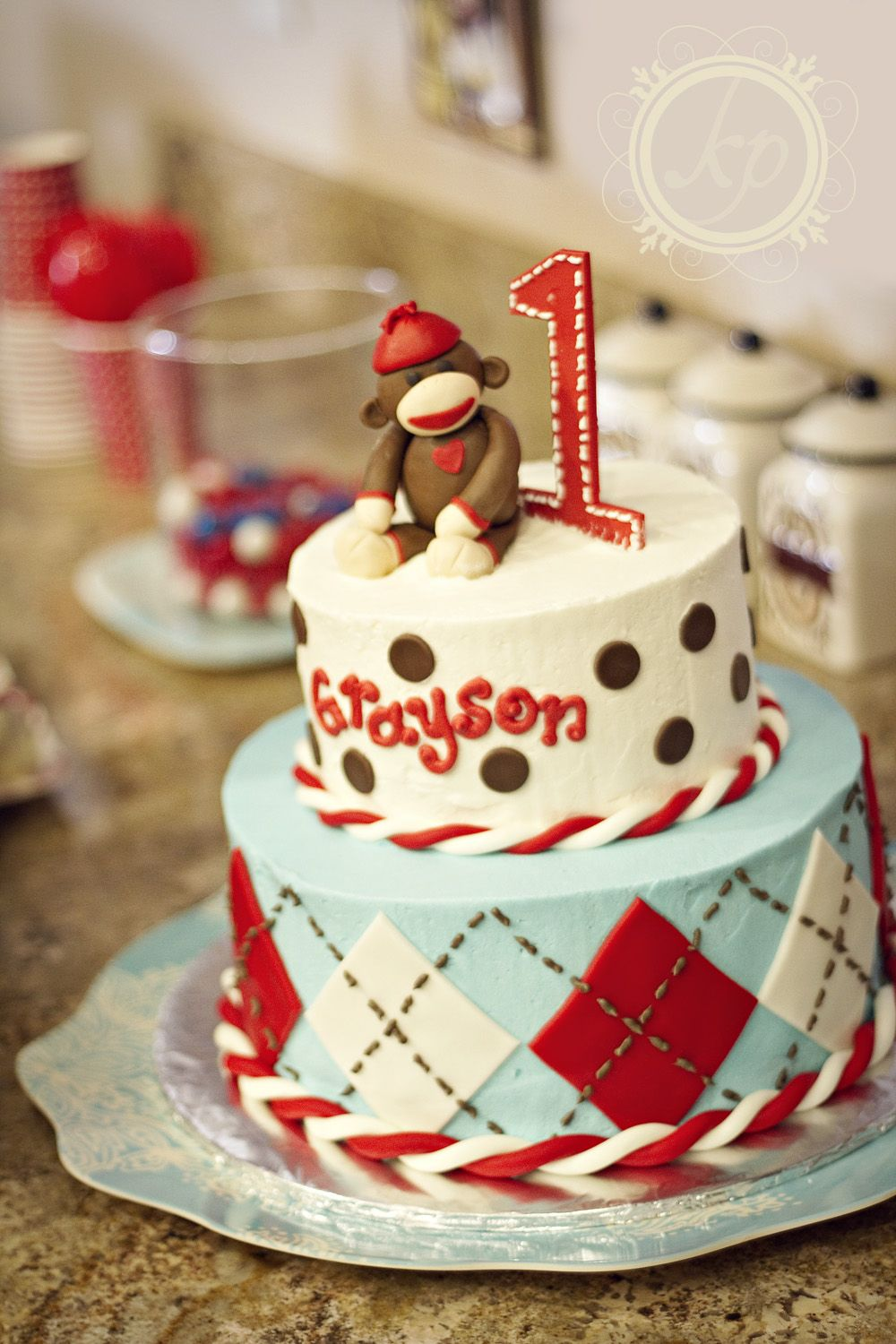 Sensational Sock Monkey With Images Sock Monkey Cakes Birthday Cake Kids Funny Birthday Cards Online Barepcheapnameinfo