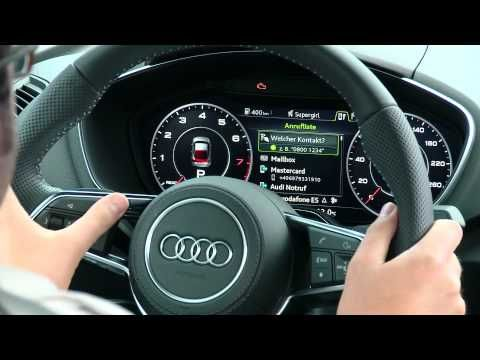 Die (r)Evolution im Auto: Das Virtual Cockpit des Audi TT - YouTube