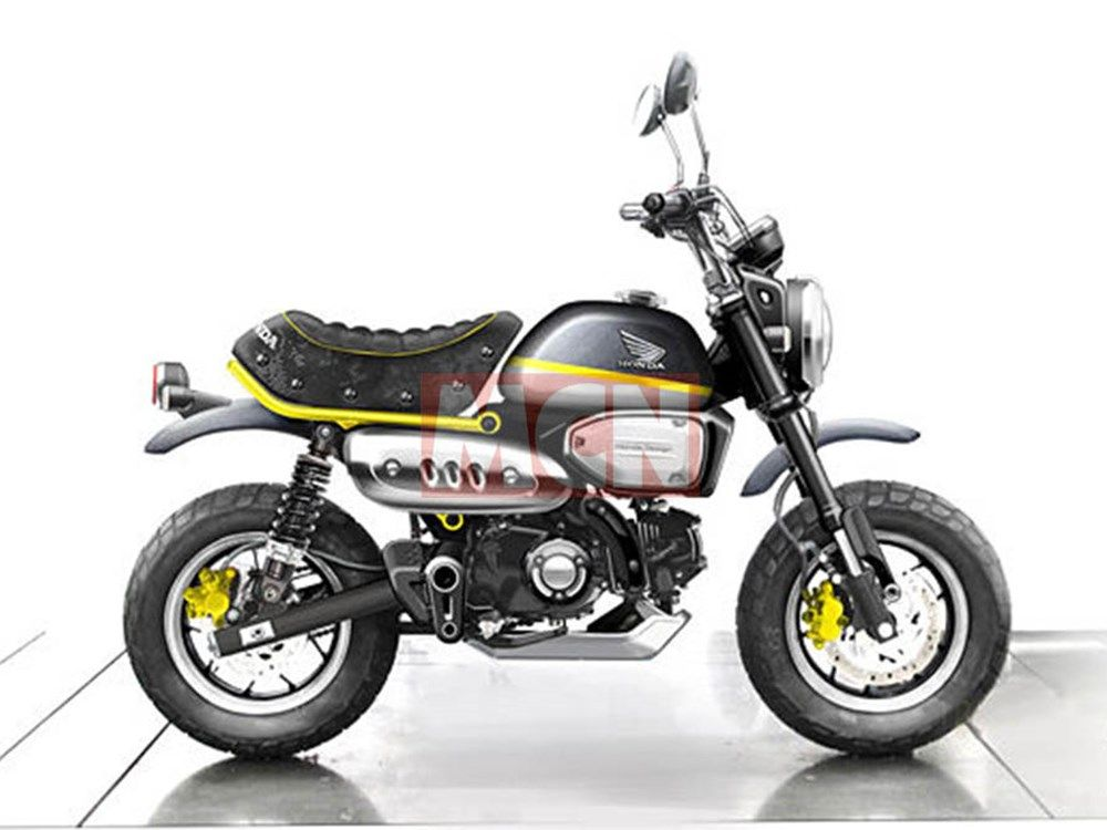 All New Honda Monkey 125 On The Way Custom Bike Pinterest