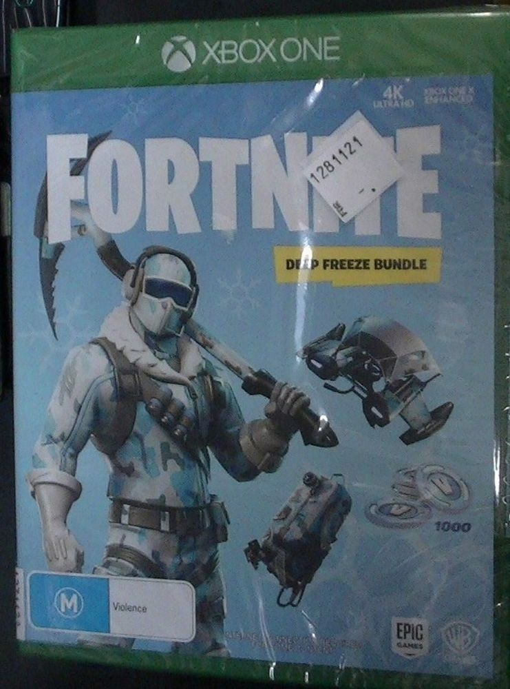 Fortnite Deep Freeze Bundle Xbox One Brand New Fortnite Australia