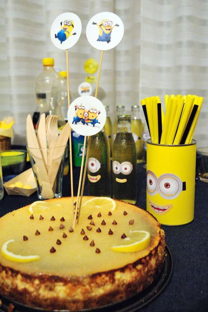 Lemon Dessert At A Despicable Me Minions Baby Shower Party! See More Party  Planning Ideas At CatchMyParty.com!
