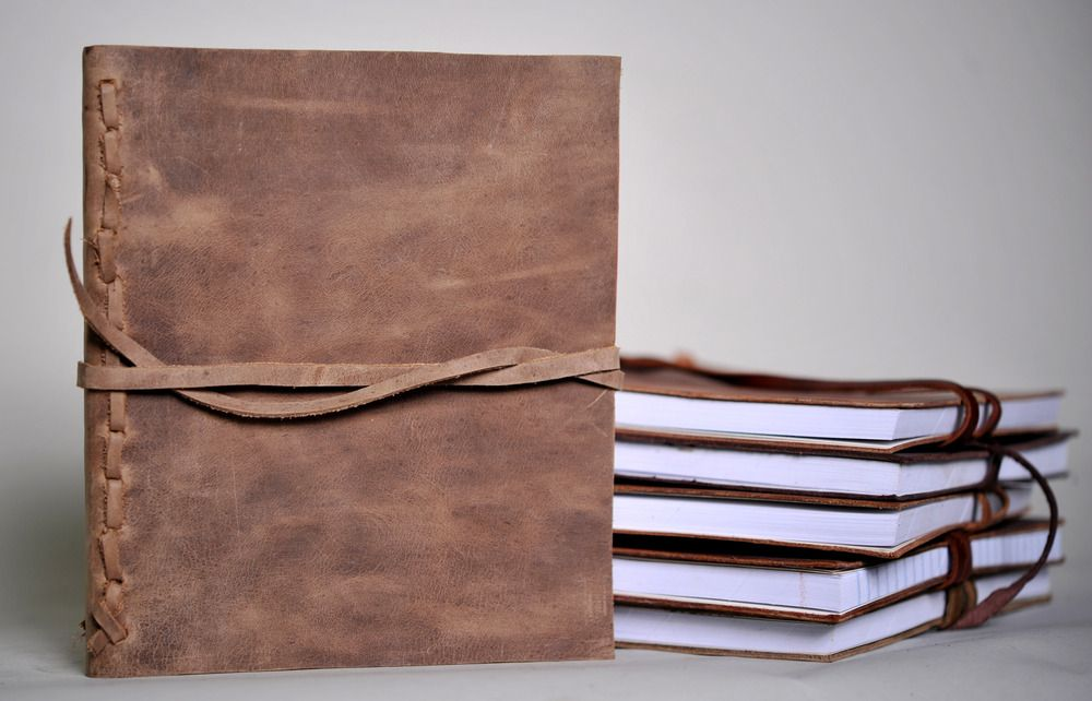 Leather Journals @ Mission Lazarus store