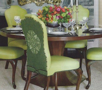 Verandaruthie Sommerspear Green Leather Dining Chairsback Delectable Green Leather Dining Room Chairs Review