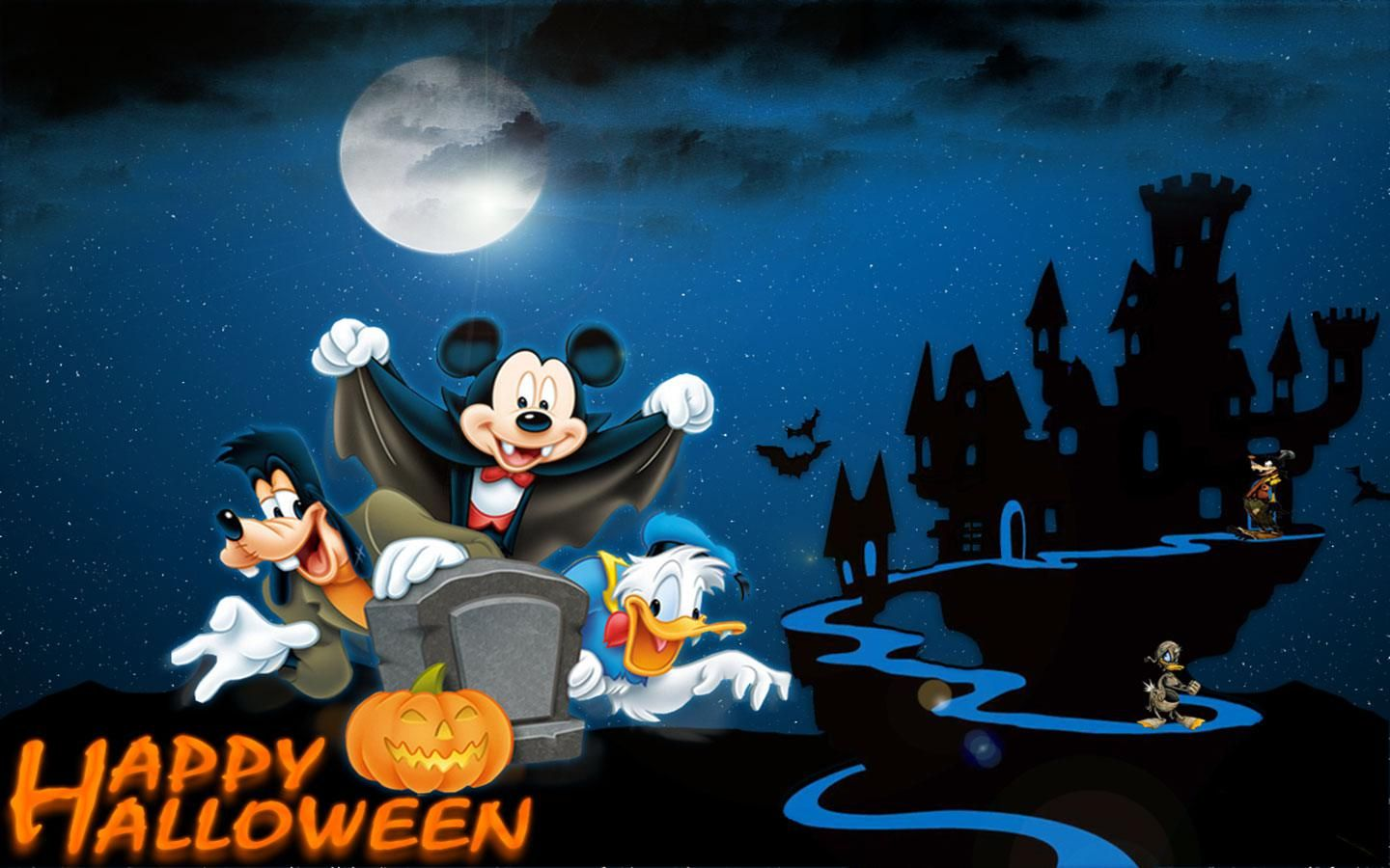 Mickey Mouse Happy Halloween Widescreen Wallpaper Hd Wallpaper, Mickey  Mouse Happy Halloween Widescreen Wallpaper Stock Photo Background, Mickey  Mouse Happy ...