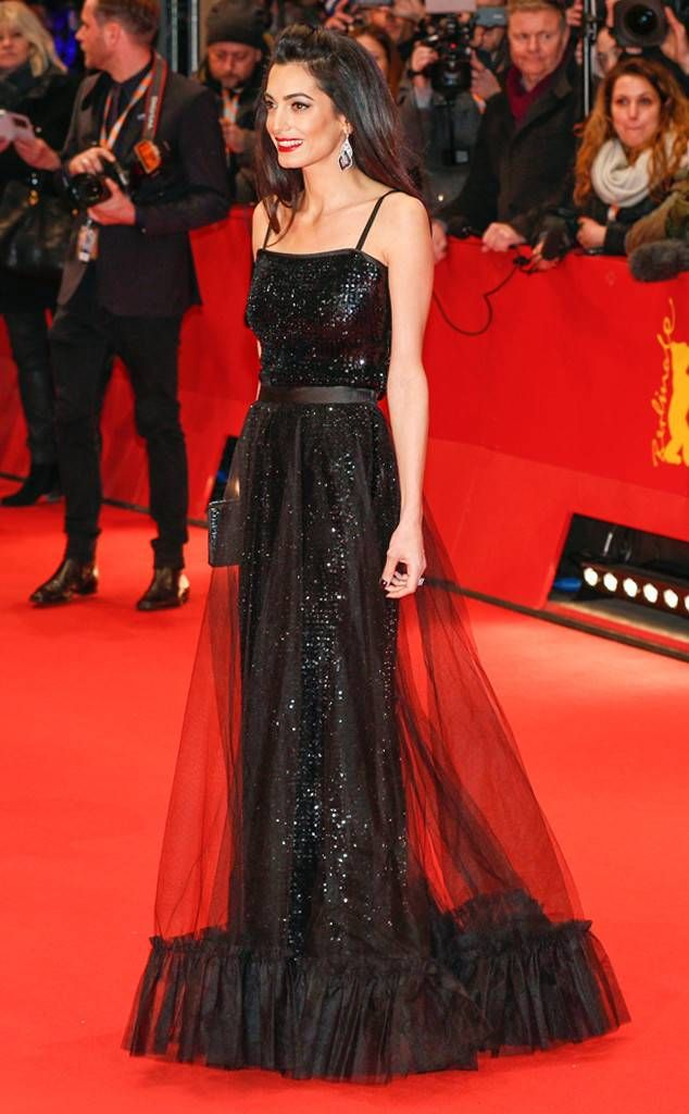 Amal Of Red 2019Abiti Clooney From Best Carpet Nel The qSUzVpGM