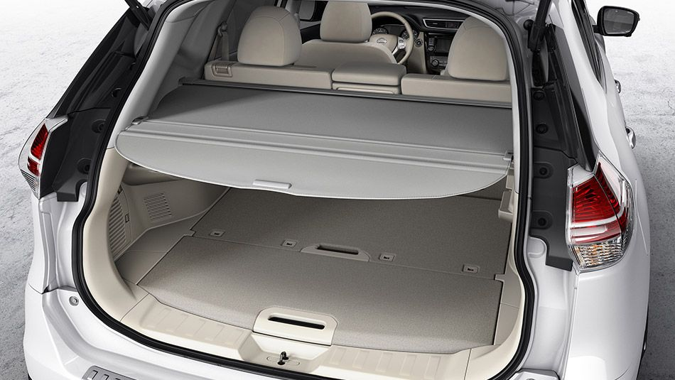 Rear Cargo Cover Nissan rogue accessories, 2014 nissan