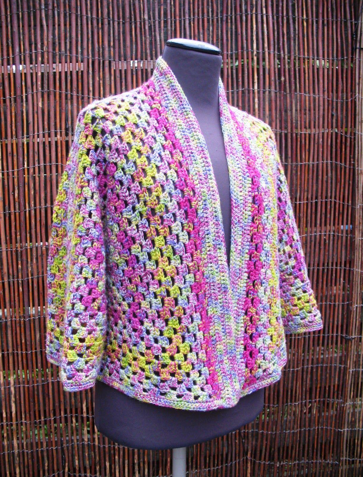 Granny Square Hexagon Vest Toen Ik Het Patroon Van Dit Vest