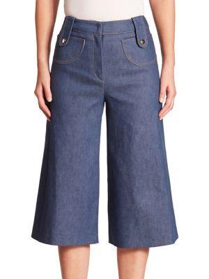 DEREK LAM Denim Culotte. #dereklam #cloth #culotte