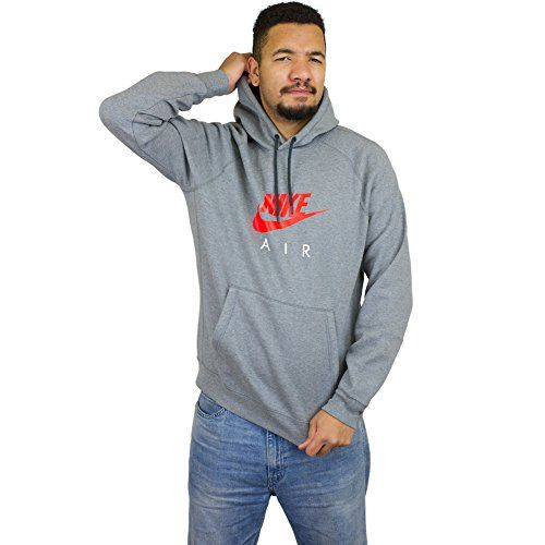 NIKE Nike M Nsw Hoodie Po Flc Air Hrtg Mens Athletic-Hoodies 810806. #nike #cloth #