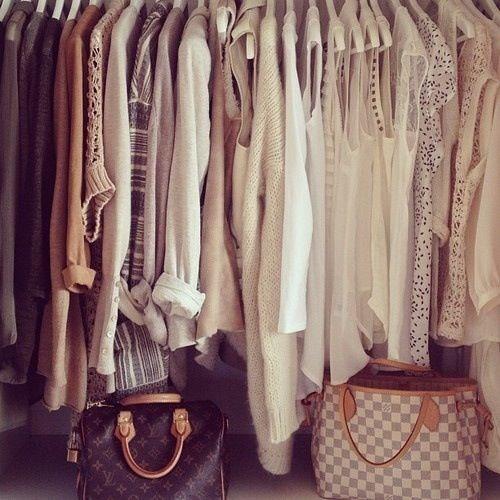 #cream #closet