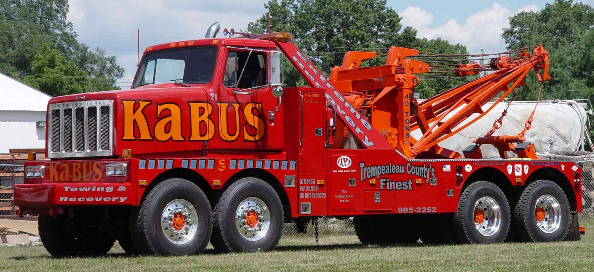 Kabus tow truck