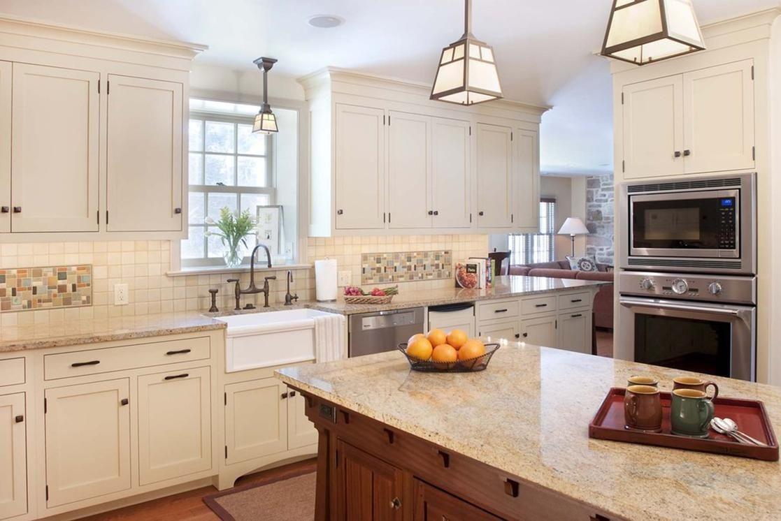 White craftsman style kitchen cabinets alexus house pinterest