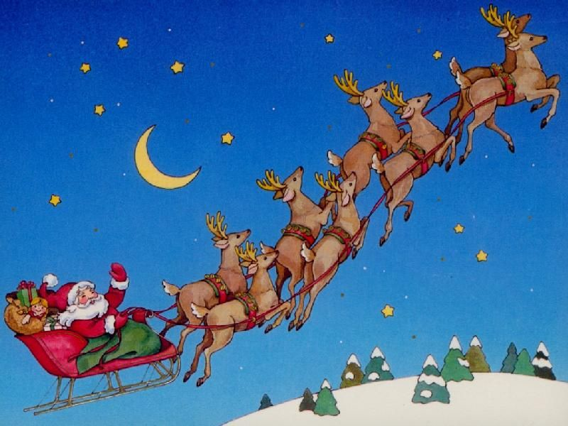 christmas is coming and all eyes are on the sky for rudolph his fellow reindeers and of course santa claus back in 1953 santas sled was extra heavy