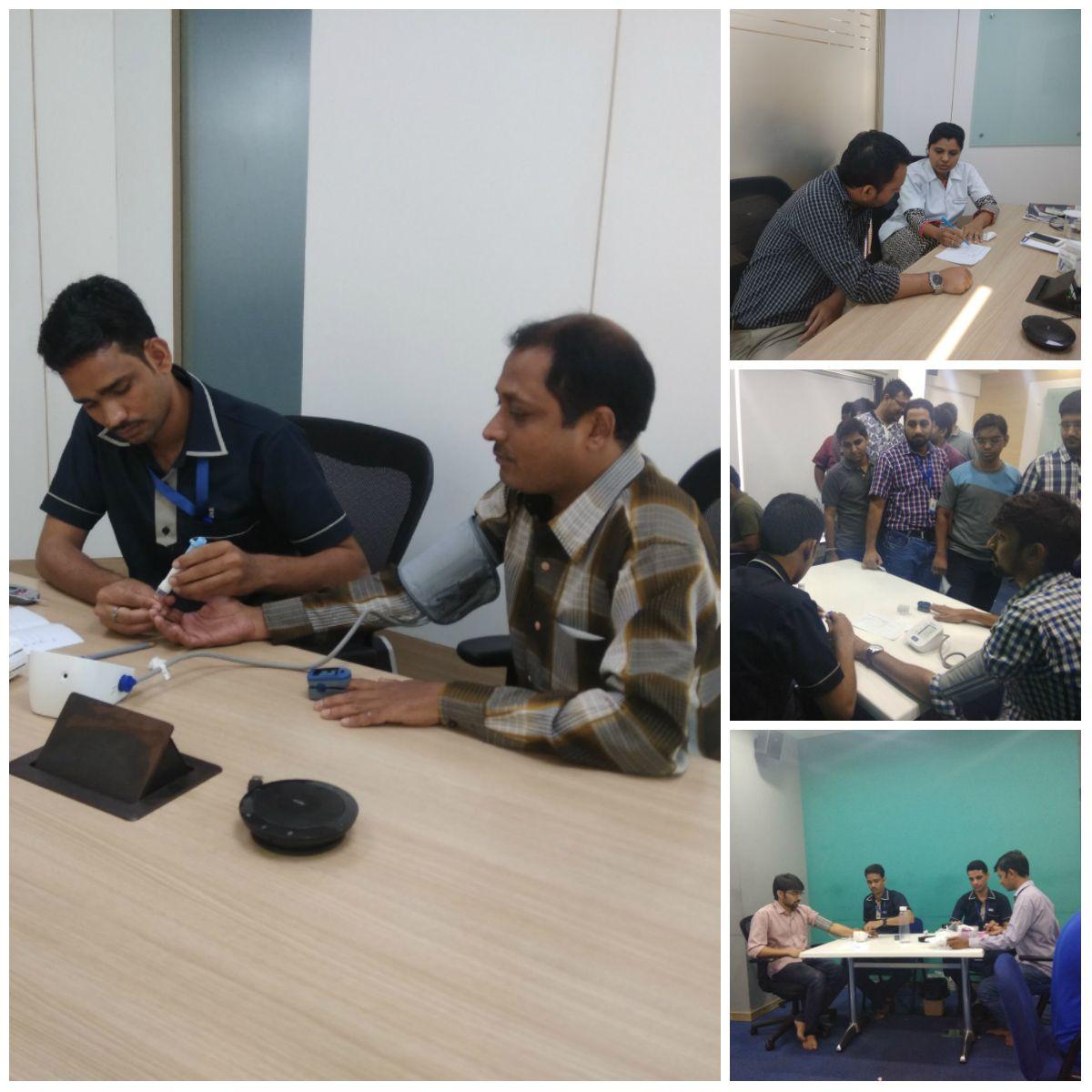 Kaizen Hospital, Ahmedabad had organized health check up
