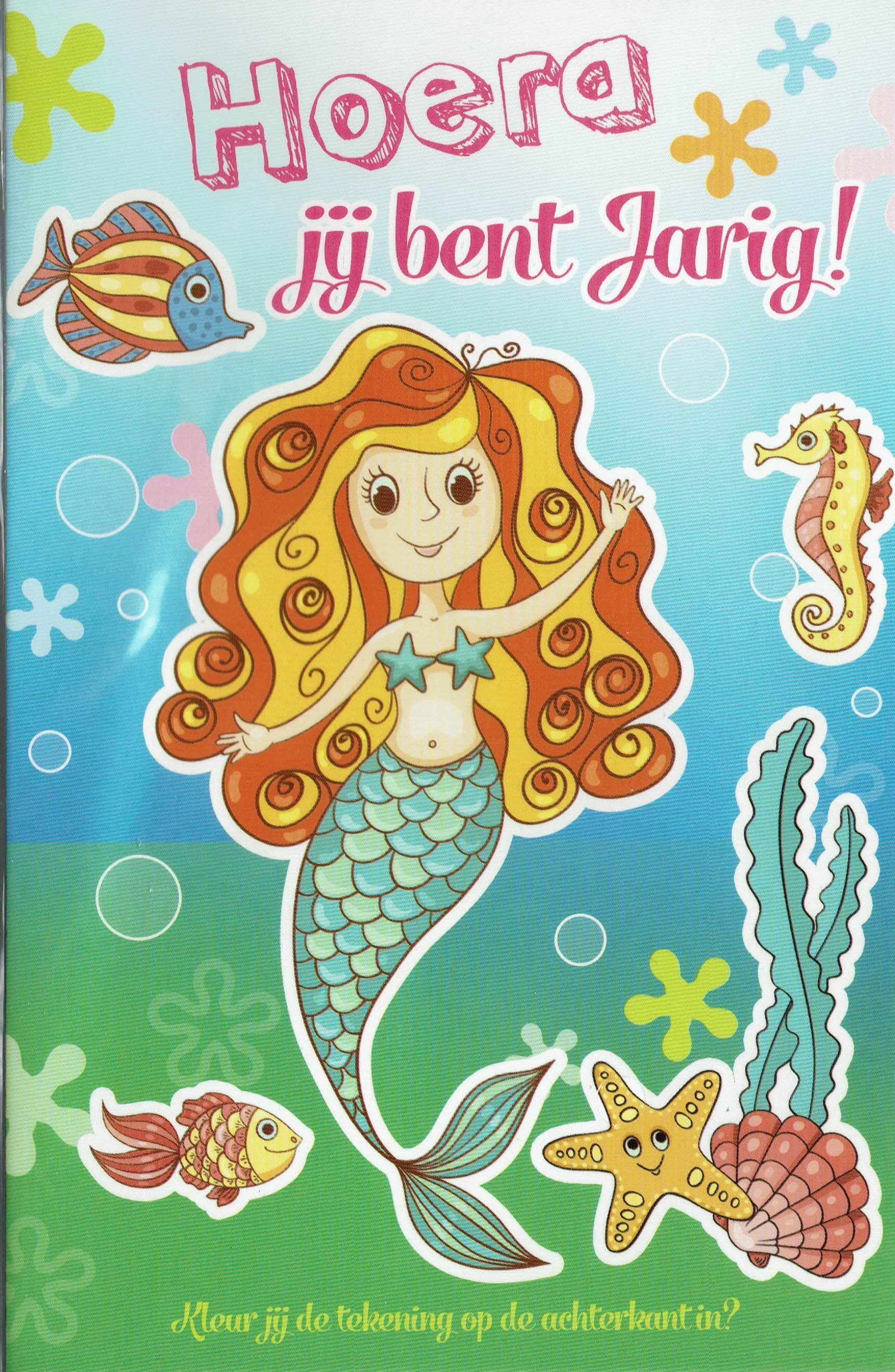 Afbeeldingsresultaat voor Verjaardagskaart kleuter prinses