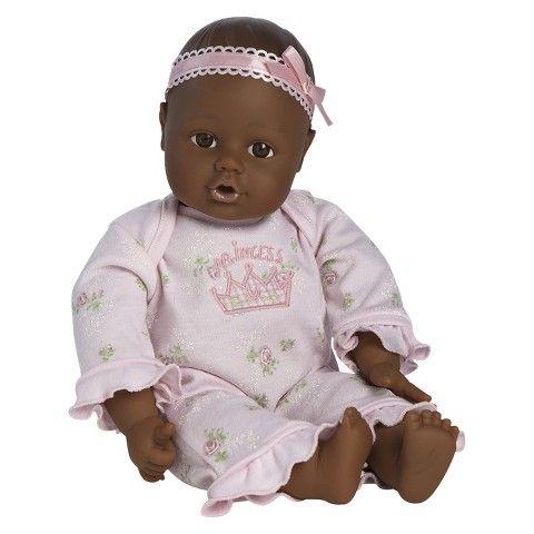 Adora PlayTime™ 13'' Baby Doll - Dark Skin and Brown Open Close Eyes