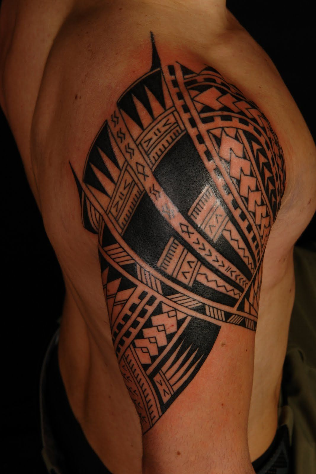 African Tribal Tattoo Half Sleeve: Might Have To Get One Of These In Hawaii