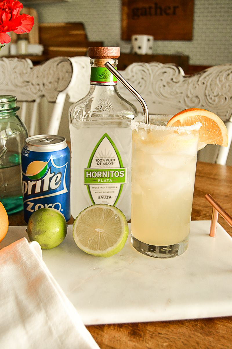Skinny Margarita Recipe #cocktaildrinks