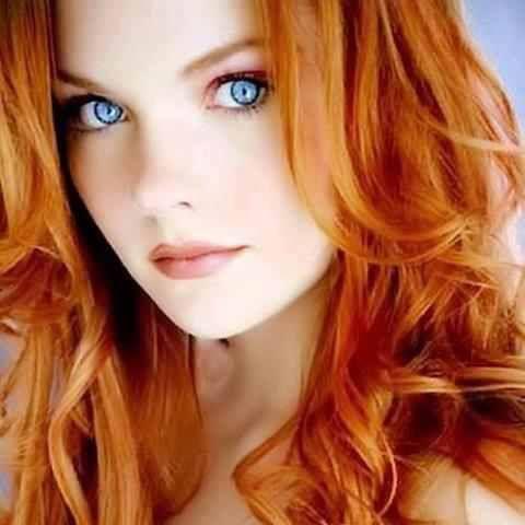Stunning Eyes Strawberry Blonde Hair Redhead Beauty Beautiful Hair