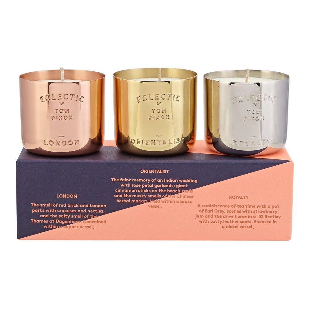 Interior design home fragrance gift set - Tom Dixon Scent Gift Set Houseology