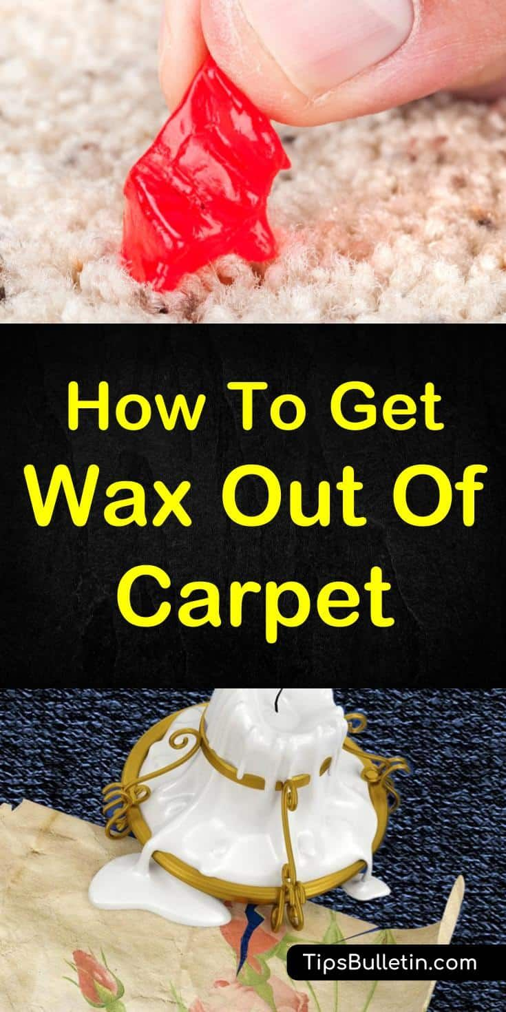 7 creative ways to get wax out of carpet clean baking