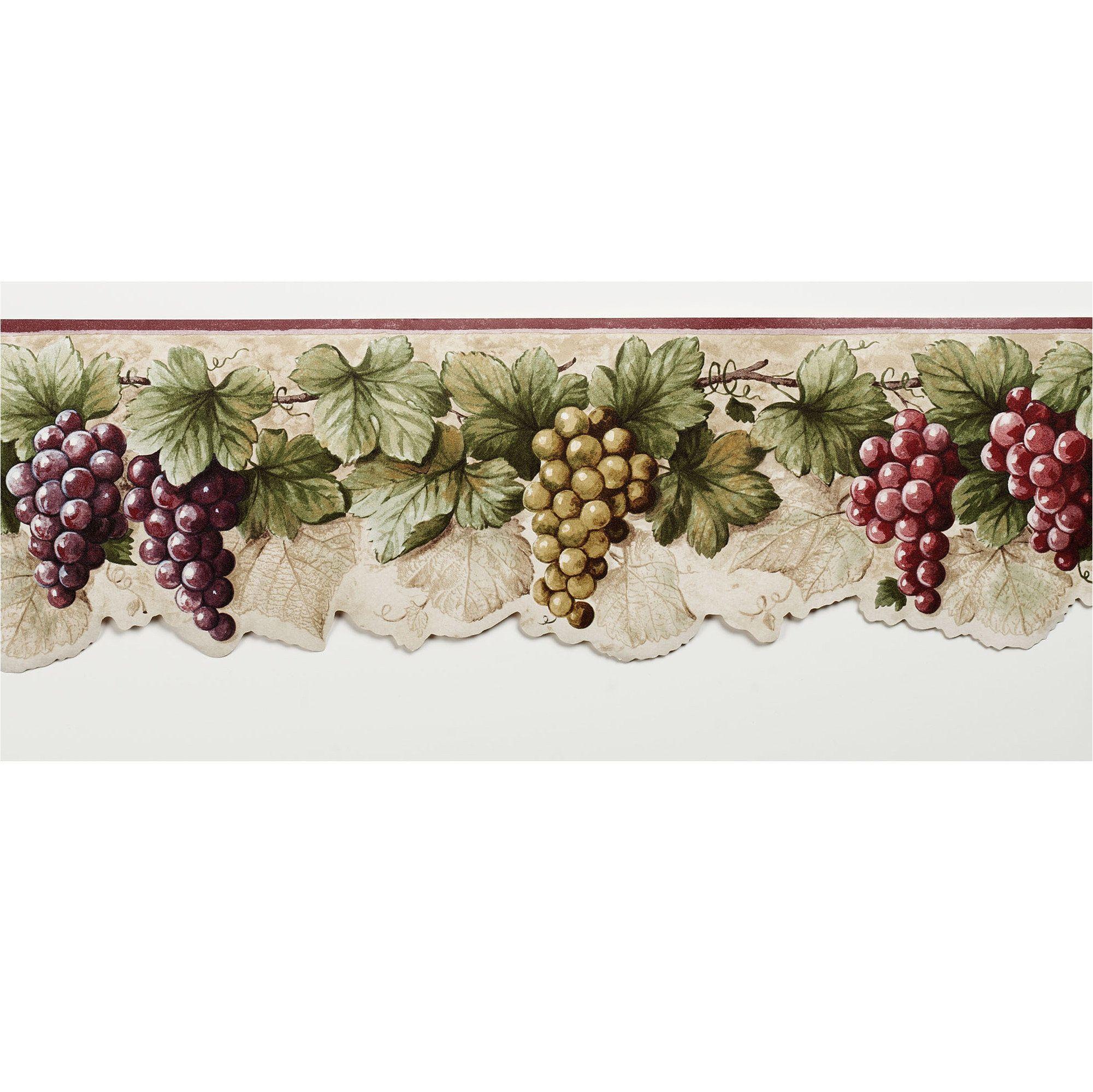 Wine Border Wallpaper Hd Grape Wallpaper Wallpaper Border Grape Decor
