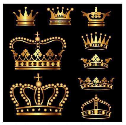 0fd10ea8881 Gold Crown Set